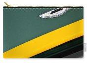 1993 Aston Martin Dbr2 Recreation Hood Emblem Carry-all Pouch by Jill Reger