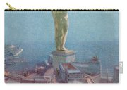 7 Wonders Of The World, Colossus Carry-all Pouch by Photo Researchers