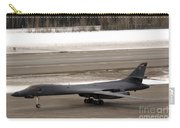 A B-1b Lancer Performs A Touch And Go Carry-all Pouch