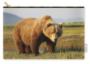 A Brown Grizzly Bear Ursus Arctos Carry-all Pouch