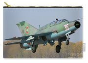 A Bulgarian Air Force Mig-21um Jet Carry-all Pouch by Anton Balakchiev