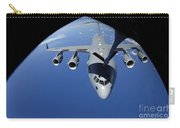 A C-17 Globemaster IIi Receives Fuel Carry-all Pouch by Stocktrek Images