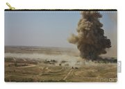 A Cloud Of Dust And Debris Rises Carry-all Pouch