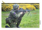 A Coldstream Guard Training In Scotland Carry-all Pouch