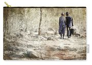 A Couple In The Woods Carry-all Pouch by Joana Kruse