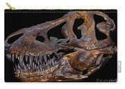 A Genuine Fossilized Skull Of A T. Rex Carry-all Pouch