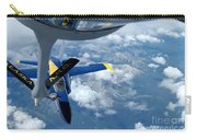 A Kc-135 Stratotanker Refuels An Fa-18 Carry-all Pouch by Stocktrek Images