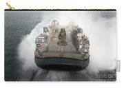 A Landing Craft Air Cushion Enters Carry-all Pouch