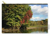 A Touch Of Autumn Carry-all Pouch by Kristin Elmquist