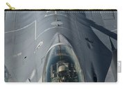 A U.s. Air Force F-16c Fighting Falcon Carry-all Pouch by Giovanni Colla