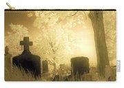 Abandoned And Overgrown Cemetery Carry-all Pouch