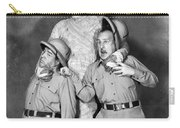 Abbott And Costello Carry-all Pouch by Granger