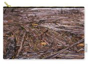 Abstract Flood Carry-all Pouch