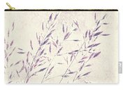 Abstract Gras Carry-all Pouch