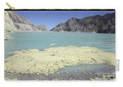 Acidic Crater Lake, Kawah Ijen Volcano Carry-all Pouch