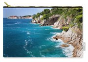 Adriatic Sea Coastline Carry-all Pouch