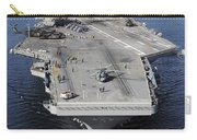 Aircraft Carrier Uss Carl Vinson Carry-all Pouch