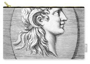 Alexander The Great (356-323 B.c.) Carry-all Pouch by Granger