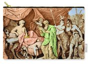 Alexander The Great And His Physician Carry-all Pouch