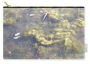 Algae Bloom In A Pond Carry-all Pouch by Photo Researchers, Inc.