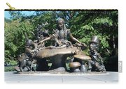 Alice In Wonderland In Central Park Carry-all Pouch