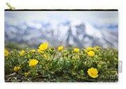 Alpine Meadow In Jasper National Park Carry-all Pouch by Elena Elisseeva