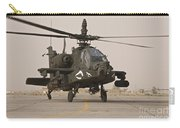 An Ah-64 Apache Helicopter Taxiing Carry-all Pouch