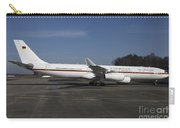 An Airbus 340 Acting As Air Force One Carry-all Pouch by Timm Ziegenthaler