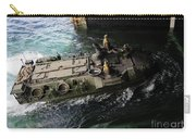 An Amphibious Assault Vehicle Enters Carry-all Pouch