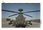 An Apache Helicopter At Camp Bastion Carry-all Pouch