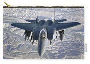 An F-15e Strike Eagle Soars Carry-all Pouch
