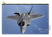 An F-22 Raptor Moves Into Position Carry-all Pouch