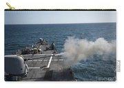 An Mk-45 Lightweight Gun Is Fired Carry-all Pouch