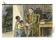 Anthony Benezet (1713-1784) Carry-all Pouch