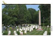 Anzac Cemetery In Harefield Churchyard Carry-all Pouch