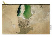 Aral Sea Carry-all Pouch by NASA / Science Source