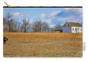 Artist In Field Carry-all Pouch by William Jobes