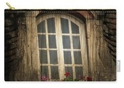 As She Waits Carry-all Pouch by Jerry Cordeiro