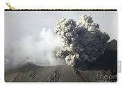 Ash Cloud Following Explosive Vulcanian Carry-all Pouch