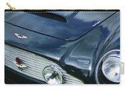 Aston Martin 1963 Aston Martin Db4 Series V Vintage Gt Grille Emblem -0140c Carry-all Pouch