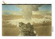 Atomic Bombing Of Nagasaki Carry-all Pouch by Omikron