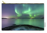 Aurora Borealis Over Vagsfjorden Carry-all Pouch