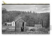 Autumn Farm Monochrome Carry-all Pouch by Steve Harrington