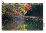 Autumn Tree Reflections Carry-all Pouch