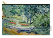Bank Of The Oise At Auvers Carry-all Pouch