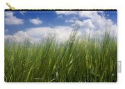 Barley Field  In Limagne. Auvergne. France Carry-all Pouch