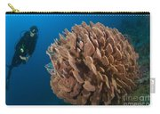 Barrel Sponge And Diver, Papua New Carry-all Pouch