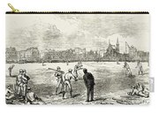 Baseball: England, 1874 Carry-all Pouch