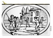 Baseball Game, 1820 Carry-all Pouch by Granger