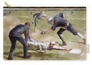 Baseball Game, 1885 Carry-all Pouch by Granger